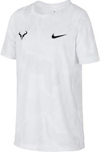 Футболка для мальчиков Nike Court Dry Rafa White/Black  CD2165-102  sp20