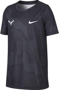 Футболка для мальчиков Nike Court Dry Rafa Anthracite/White  CD2165-103  sp20