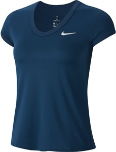 Футболка женская Nike Court Dry Valerian Blue  CQ5364-432  sp20