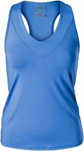 Майка женская Lucky in Love Core V-Neck Blue  CT60-434  fa18