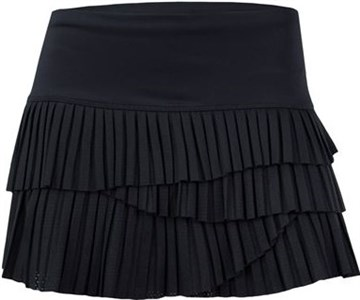 Юбка женская Lucky in Love Pindot Pleated Scallop  CB163-001  sp19