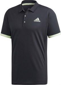 Поло мужское Adidas New York Carbon/Glow Green  EI8970  fa19