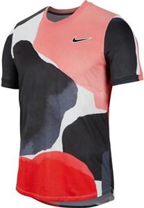 Футболка мужская Nike Court Challenger Melbourne Crew Gridiron/White/Off Noir  BV0787-015  sp20