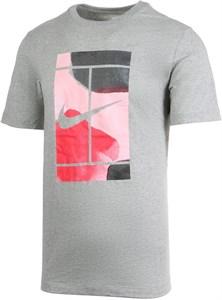 Футболка мужская Nike Court Swoosh Dark Grey  CQ2422-063  sp20