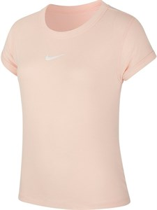 Футболка для девочек Nike Court Dry Washed Coral/White  CQ5386-664  sp20