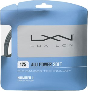 Комплект струн Luxilon ALU POWER SOFT 1.25 (12.2 м)  WRZ990101