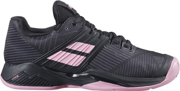 Кроссовки женские Babolat Propulse Fury Clay Black/Geranium Pink  31S20554-2014