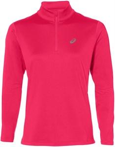 Футболка женская Asics Silver LS 1/2 Zip Pink  2012A034-700  sp20