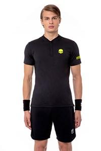 Поло мужское Hydrogen Tech Serafino Black  T00202-D56