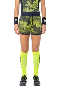 Шорты женские Hydrogen Tech Camo Fluo Yellow/Black  T01006-D74