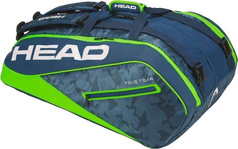 Сумка Head TOUR TEAM X12 Monstercombi Navy/Green  283108-NVGE