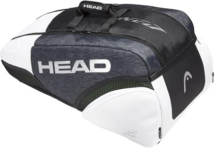 Сумка Head DJOKOVIC Speed X9 Supercombi Black/White  283019