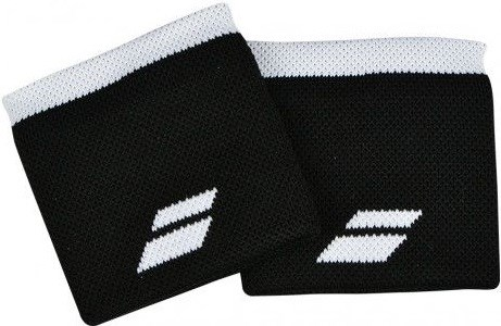 Напульсник Babolat LOGO Black/White  5US18261-2001