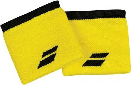 Напульсник Babolat LOGO Yellow/Black  5US18261-7001