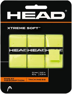 Овергрип Head XTREME SOFT X3 Yellow  285104-YW