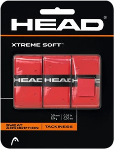Овергрип Head XTREME SOFT X3 Red  285104-RD