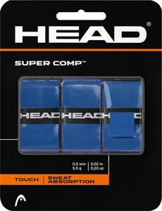 Овергрип Head SUPER COMP X3 Blue  285088-BL