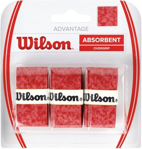 Овергрип Wilson ADVANTAGE X3 Red  WRZ4033RD