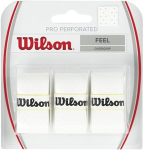 Овергрип Wilson PRO PERFORATED X3 White  WRZ4005WH