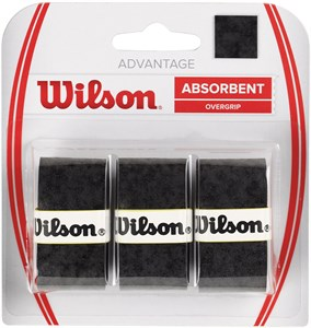 Овергрип Wilson ADVANTAGE X3 Black  WRZ4033BK