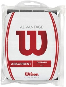 Овергрип Wilson ADVANTAGE X12 Black  WRZ4034BK