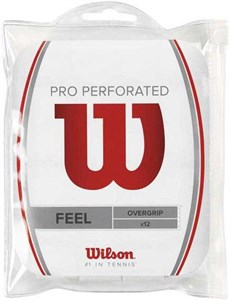 Овергрип Wilson PRO PERFORATED X12 White  WRZ4006WH