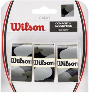 Овергрип Wilson Camo X3 Black  WRZ470830