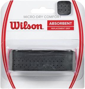 Основной грип Wilson Micro-Dry Comfort Black  WRZ4211BK
