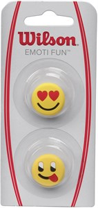 Виброгаситель Wilson EMOTI-FUN X2 Heart Eyes/Tongue Out  WRZ538400