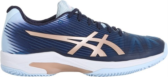Кроссовки женские Asics SOLUTION SPEED FF Clay Peacoat/Rose Gold  1042A003-413  sp20