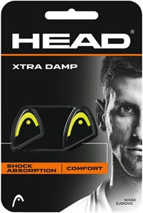 Виброгаситель Head XTRA DAMP X2 Black/Yellow  285511-YW