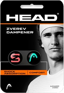 Виброгаситель Head Zverev Dampener X2 Teal/Hot Lava  285120