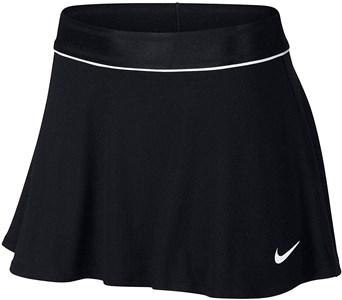 Юбка женская Nike Court Dry Flouncy Black/White  939318-011  sp19