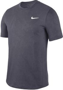 Футболка мужская Nike Court Dry Challenger Gridiron/White  BV0766-015  sp20