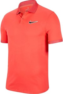 Поло мужское Nike Court Breathe Advantage Laser Crimson/Off Noir  BV0780-644  sp20