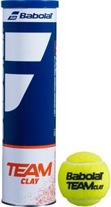 Мячи теннисные Babolat TEAM CLAY 4 BALLS  502080