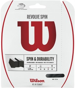 Комплект струн Wilson REVOLVE SPIN Black 1.30 (12.2 м)  WRZ957000
