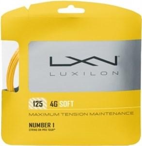 Комплект струн Luxilon 4G SOFT 1.25 (12м)  WRZ997111