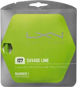 Комплект струн Luxilon SAVAGE Lime 1.27 (12.2 м)  WRZ994500