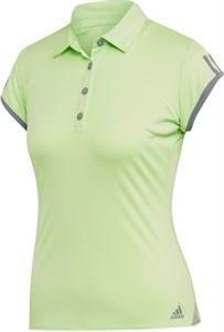 Поло женское Adidas Club 3 Stripes Glow Green  EC3654  fa19