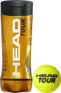 Мячи теннисные Head TOUR 3 BALLS  570703