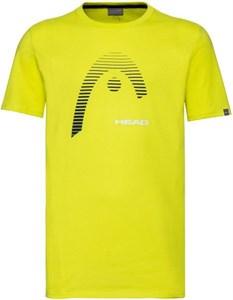 Футболка мужская Head Club Carl Yellow  811489-YW  su20