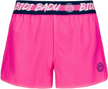Шорты женские Bidi Badu Raven Tech (2 In 1) Pink/Dark Blue  W314028193-PKDBL