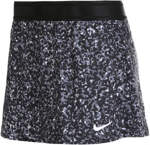 Юбка женская Nike Court Dry Printed Black/White  CK8216-010  su20