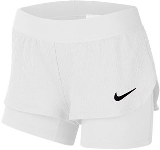 Шорты для девочек Nike Court Flex White/Black  CJ0948-100  sp20