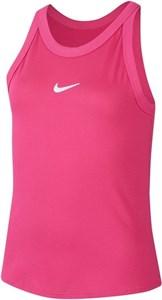 Майка для девочек Nike Court Dry Vivid Pink/White  CJ0946-616  su20