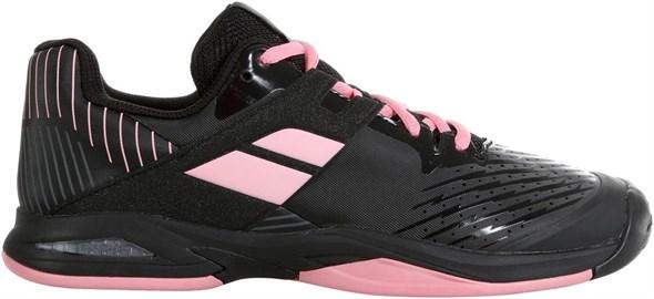 Кроссовки детские Babolat Propulse All Court Black/Geranium Pink  32/33S20478-2014