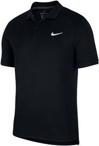 Поло мужское Nike Court Dry Pique Black  BV1194-010