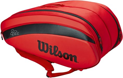 Сумка Wilson Federer DNA X12 Red  WR8006001001
