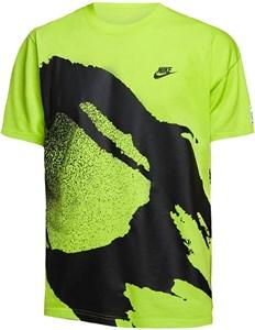 Футболка мужская Nike Court Challenge Cyber  CZ9602-389  su20